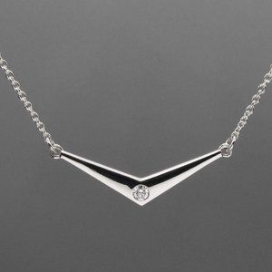 *Best Seller* Diamond and Sterling Silver Necklace
